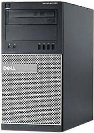 Optiplex, Core I7, 32gb Ram, SSD & HDD, 4gb Radeon, Dell Warranty, Infinity Monitors Dream Machine