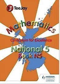 TeeJay National 5 Mathematics Paperback – 15 July 2013