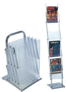 A4 Portable brochure stand/brochure holder/catalogue/flyer