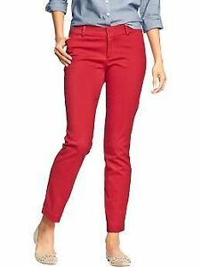 NEW! Old Navy Red Skinny Ankle Diva Pants Sz 16 XL Women's