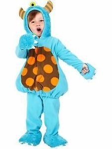 Adorable, Warm Old Navy Monster HALLOWEEN Costume, Size 4T-5T,