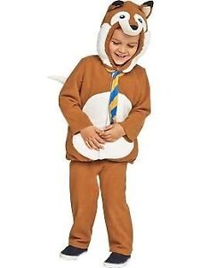 ISO 3T or 4T Fox Costume