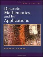 Discrete Mathematics and Its Applications Hardcover Rosen 4th ed