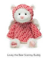 Lovey the Bear Scentsy buddy with box