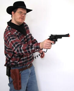 Wild West Quick Draw Laser tag rental - Western parties! Strathcona County Edmonton Area image 1
