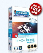 Free Copy Of Ultimate Maths Invaders (Educational Software) Armidale Region Preview
