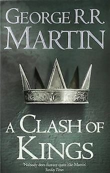 A Song of Ice and Fire 02. A Clash of Kings von Martin, ... Buch Zustand gut