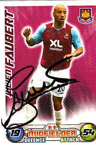 West-Ham-United-F-C-Julien-Faubert-Hand-Signed-08-09-Championship-Match-Attax