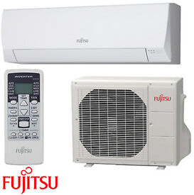 Fujitsu Wall Mount 2.5KW Air Conditioning System