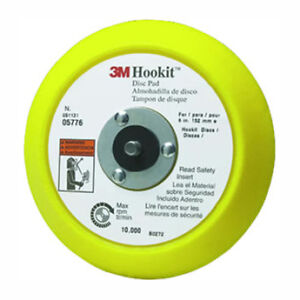 "3m 5776 hookit disc pad 6"" inch round back up pad 05776 