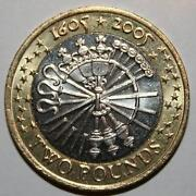Guy Fawkes £2 Coin