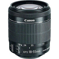 Canon EF-S 18-55mm f/3.5-5.6 lens IS