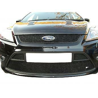 ZUNSPORT FRONT GRILLE for FORD FOCUS MK2 RS 08-11 WITH LOCKING MECHANISM