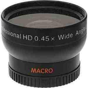 MACRO CLOSE UP + WIDE ANGLE LENS for Samsung NX210, NX20, NX11, NX10, NX5
