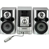 Sony CD Desktop Micro System - 5-Disc Changer, 2x Speakers