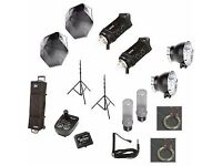 Bowens Gemini 500C/500C Classic Kit with Pulsar TX-Trigger Card Kit UNUSED open to offers