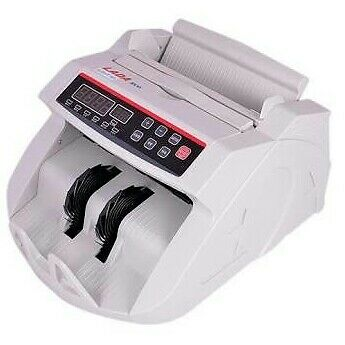 LADA ECO Money Counting Machine with Built in Fake Note Detector available at Ebay for Rs.5000
