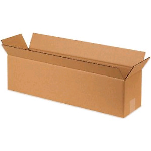 "20"" x 8"" x 8"" New 24pcs Corrugated Boxes"