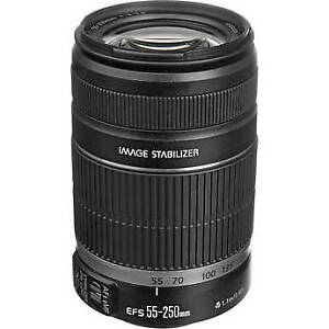Canon EF-S 55-250mm f/4-5.6 IS II Lens Like NEW
