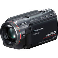 Panasonic HDC-HS700 1080p camcorder with 240 GB HDD