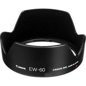 Genuine Canon Lens Hood EW-60 for Canon EF 24mm f/2.8
