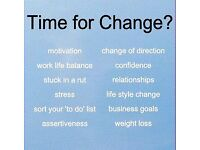 Life Coach, Counsellor. Time for Change? I provide a calm and supportive space to talk and think.