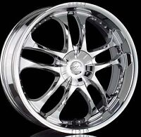 Like new 20inch Zinik chrome wheels/tires must sell best offer!