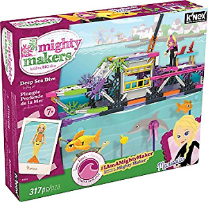 Knex mighty makers deep sea dive