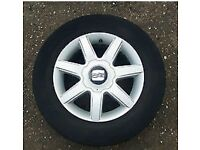 5x100 Alloy Wheels Seat Leon Genuine Toledo Ibiza mk4 golf Audi etc