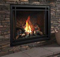 Gas Fireplace - The Marquis Bentley
