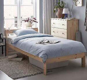 Wood Single Bed Frame