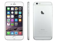*Factory Unlocked - Very Good* 16GB Apple iPhone 6 Silver 4G/LTE latest iOS 11.4