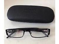 New Unisex Black Hard Glasses Case.[17cmx6cm]