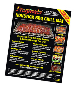 Authentic Frogmats non stick grilling mats