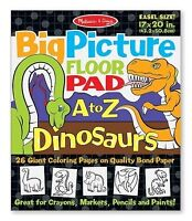 NEW: Melissa & Doug (Easel Size) Big Picture Floor Pad A to Z Di