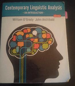 Contemporary Linguistics Analysis