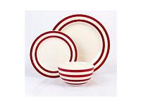 Brand new 12 piece stoneware dinner set