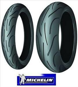 Michelin Pilot Power 180/55-17 120/70-17 Sport Bike Tires ZR Combo Set Pair