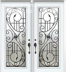 Wrought Front Door Double Iron  Fair Price