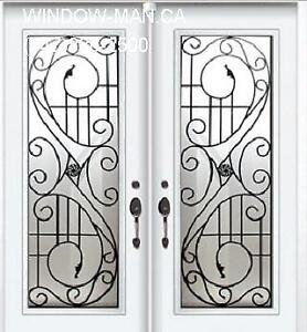 Front Iron Door Wrought Double  Supply Install