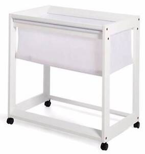 Boori Urbane White Bassinet Baby Bed Cot Cremorne Clarence Area Preview