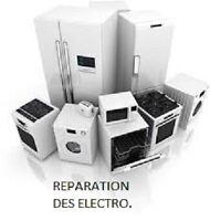 Service de Réparation de frigo