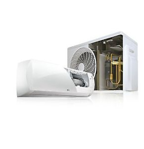 LG and SAMSUNG ductless heat pumps
