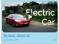 Elly Space: Electric Car (MP3) - Song about electric cars