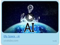 Elly Space: AI (MP3) - Song about Artificial Intelligence