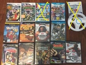 selling some gamecube/wii and wii u games