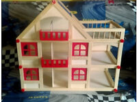 NEW DOLLHOUSE FOR SALE