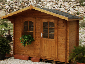 Cabin kits kijiji in ontario buy sell save with canadas easy log structures building shed bunkie kits 7 x solutioingenieria Image collections