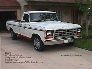 wanted 1979 Ford F-250 Pickup Truck
