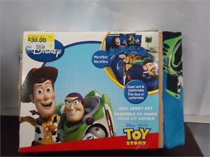 Toy Story Sheet Set- Full size 4 pc brand new